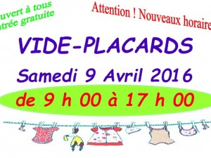 Vide Placards le 9 avril 2016